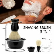 Wood Shaving Brush Bowl Tool Men Professional Barber Holder Facial Beard Set Kit
