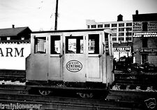 New York Central (NYC) Track Car On West Shore @ Amsterdam NY B&W Print