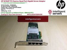 HP NC364T PCI Express de cuatro puertos Gigabit Server Adapter 435508-B21 de alto perfil