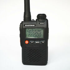 BaoFeng UV-3R 2W Mini Walkie Talkie VHF/UHF Dual Band Two-Way Radios Transceiver
