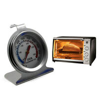 Stainless Steel Grill Pizza Dial Oven Thermometer Temperature Cooker Dial Gauge