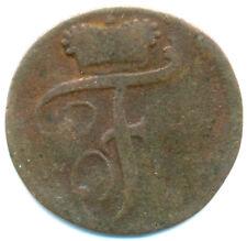 Waldeck-Pyrmont, Friedrich Karl August, 1 Pfennig 1799