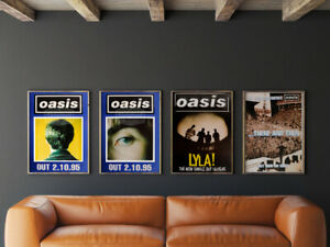 Oasis original posters - Collectors set 2