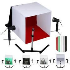Portable Photo Studio Lighting Cube Tent Kit 60 X 60CM Light Box + 5 Backgrounds