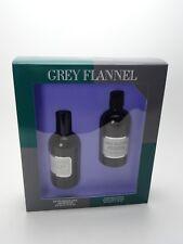 Geoffrey Beene Grey Flannel Conjunto de Regalo con 120 ML y 100 ml Loción para después del afeitado EDT