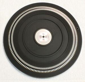 PHILIPS GA222 Outer Platter W/ 60Hz Strobe-Vintage Turntable