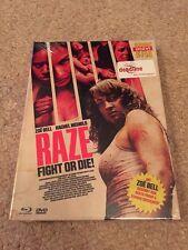 Raze Fight Or Die Blu Ray Mediabook Cult Horror Fighting Gore