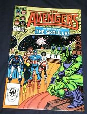 AVENGERS #259 (VF/NM) DOUBLE COVER! Rare! SKRULLS! Wasp! Cap! Hercules! 1985