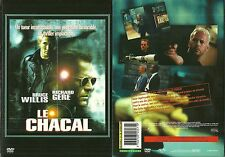 DVD - LE CHACAL avec RICHARD GERE, BRUCE WILLIS / COMME NEUF - LIKE NEW