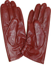 Gants Cuir,Taille (XL) pour Femme Cuir Robe Hiver Gants,Chaud Neuf avec