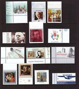 Germany 2004 mint MNH stamps selection