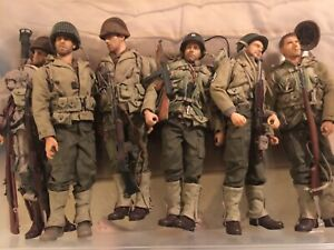 """12"""" FIGURE SAVING PRIVATE RYAN SET OF 6 SOLDIERS WWII DRAGON 1/6 CAPT MILLER"""