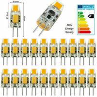 10PC/Lot G4 LED COB AC/DC12V Mini Crystal Bulb Light 2W 3W Replace Halogen Lamp