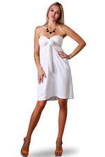Vestidos de mujer de color principal blanco talla XXL
