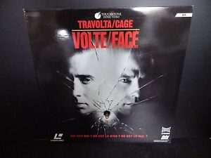 Laserdisc, Volte Face , Very Good Condition! Complete