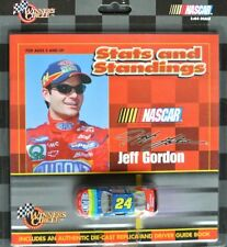 #24 CHEVY NASCAR 1999 * DUPONT * Jeff Gordon - 1:64 + DRIVER GUIDE BOOK