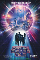Art Poster READY PLAYER ONE MOVIE 06 Hot Silk 30 40 24x36inch T-223