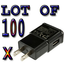 100 x  Real 2Amp AC Wall for USB Chargers for Samsung Galaxy S2 S3 S4 S5 Note3 4