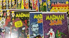 Alternative Comic lot Madman Comics 1-16 The G Men From Hell 1-4 Madman Jam 1&2