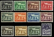 1938-45 Turks & Caicos Islands #78-86A & 89 - OGHR - VF - $25.00 (ESP#3391)