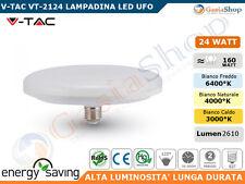 V-TAC VT-2124 LAMPADINA LED E27 24W UFO - SKU 7161 / 7162 / 7163