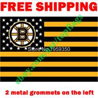 Deluxe Boston Bruins USA Stars Stripes Flag Banner 3x5 ft 2019 NHL Fan NEW