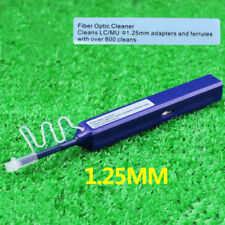 New One-Click Fiber Optic Cleaner 1.25mm for LC MU Adapter