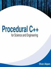 Procedural C++ for Science and Engineering by Okon Akpan (2014, Paperback)