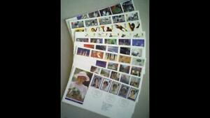 10 UK Royal Mail FIRST DAY COVERS - 1996-98 ~ Includes Diana & Football legends.