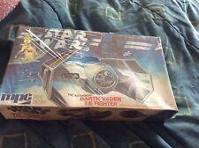 Vintage 1978 Star Wars The Authentic Darth Vader Tie Fighter Model Kit