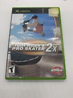 Tony Hawk's Pro Skater 2X (Microsoft Xbox, 2001) - Complete in Box Untested