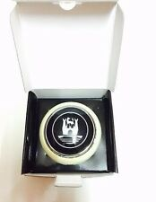 VW Volkswagen Type 2 Deluxe Bus Horn Button With Castle Logo (Ivory/Grey))