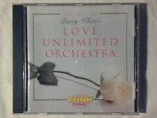 LOVE UNLIMITED ORCHESTRA The best of cd BARRY WHITE JOHN BARRY GENE PAGE