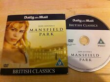 Jane Austen MANSFIELD PARK Starring Billie Piper & Hayley Atwell DVD