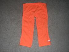 Stella McCartney Yoga Pants Capris Women's Size 36 Orange