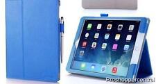 NEW w/o box i-Blason Apple iPad Air 2 Slim Leather Case - Blue