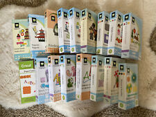 Lots of Cricut cartridges for sale - Letters, Animals, Seasons, Greetings, Lace