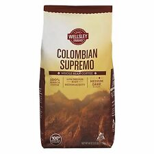 Wellsley Farms Colombian Whole Bean Coffee, 40 oz