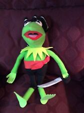 "Kermit The Frog Pirate Plush Toy Jim Henson 1995 18"" Tall"