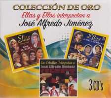 3 CD's - Jose Alfredo Jimenez CD Coleccion De Oro 889854591625 - NOW SHIPPING !