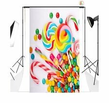 3X5ft Candy Poly Fabric Photo Backdrops Customized Studio Background Studio Prop