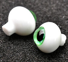 New Colorful(Green) Iris 12mm Glass Stript BJD Eyes for Joint BJD AOD Doll