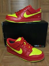 RARE🔥 Nike Dunk Low USC Ironman Colorway Sz 10 Red Yellow Bright Men's Shoes