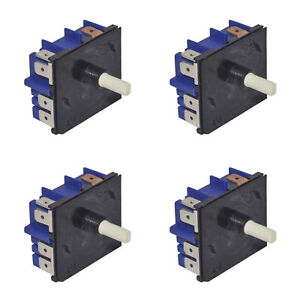 4x Genuine Electric Stove Control Simmerstats 6mm Shaft MP101 0534001654B (Qty4)