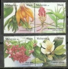 [SJ] Unique Flowers Plant Malaysia 2008 Flora (stamp) MNH