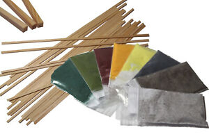 Aroma,Farbaroma,Geschmack+ Zuckerwattestäbchen ,Holz Stäbe für Zuckerwatte