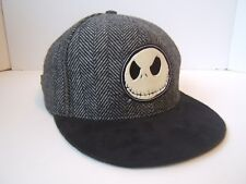 The Nightmare Before Christmas Hat Gray Tim Burton Disney Strapback Baseball Cap