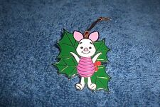 Disney Parks Woodland Winter Ornament Winnie the Pooh Piglet Conceal Mystery Pin