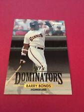 Barry Bonds  Giants 1994 Donruss Dominators #2