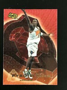1999-00 UD Ionix Pyrotechnics Antawn Jamison #P10 Warriors